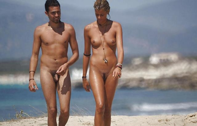 Nude beach and spain